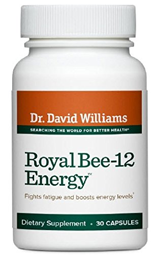 Dr. David Williams Royal Bee-12 Energy Supplement Provides Lasting Energy, 30