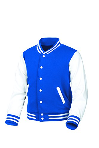Chaqueta myglory77mall Béisbol de Azul para Hombre 1rrdcCqwn