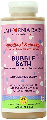 California Baby Bubble Bath - Overtired & Cranky, 13 oz (Pack of ()