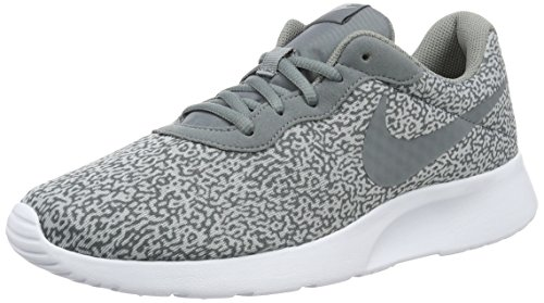 Nike 819893-002 Men's Tanjun Print Running Shoes Grey 8 M US