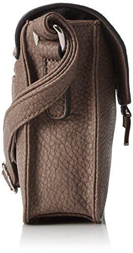 taupe Different Braun Ii 104 Bolso S Flap Marrón Bandolera Mujer Gerry Weber Talk Bag H qUwFOZ4x