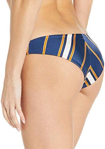 Roxy Women's Romantic Senses Mini Swimsuit Bikini Bottom