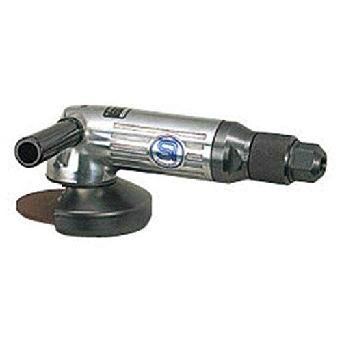 SHINANO SI-2500 100MM GOVERNED PNEUMATIC (AIR) ANGLE GRINDER 11000RPM ROLL THROTTLE