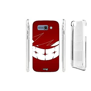 FUNDA CARCASA MOSTRO ROSSO LAUGH PARA ALCATEL ONETOUCH POP C9 7047D