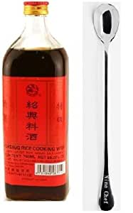 Shaohsing (shaoxing) Rice Cooking Wine 750ml + One NineChef Spoon