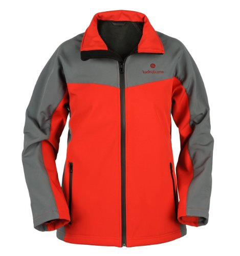 lucky-bums-youth-soft-shell-solid-jacket-red-large