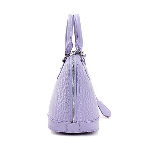 cuir Sac portés épaule en main Sac Valin à LF 288 Sac femme fashion portés Violet main wpEHBf0qx