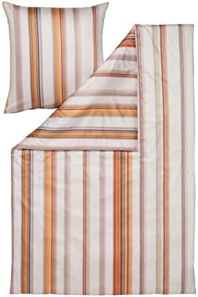 Estella Lifestyle Ivano tamaño de cama (satén 155 x 200 + 80 x 80 cm), color salmón: Amazon.es: Hogar