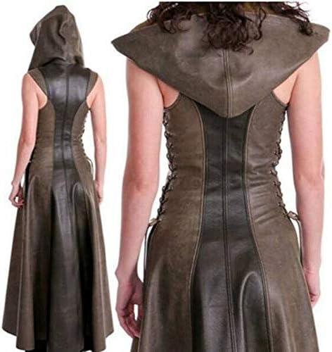 Black Sugar Manteau Femme Arc Fleche Medieval Tunique Déguisement Robe Ensemble Lacet Steampunk Moyen Age