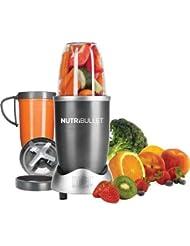 NutriBullet 8-Piece High-Speed Blender/Mixer System, Gray