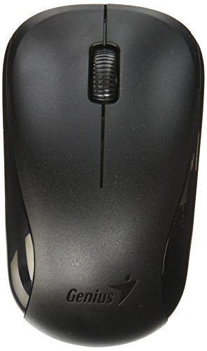 Genius 2 4Ghz High Precision Optical Programmable Wireless Mouse Blueeye Engine  Nx 7000 Calm Black