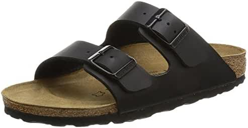 Birkenstock womens Arizona in Black from Birko-Flor Sandals 41.0 EU N