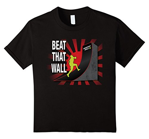 Price comparison product image Kids Beat That Wall! Warped Wall Ninja Shirt 12 Black