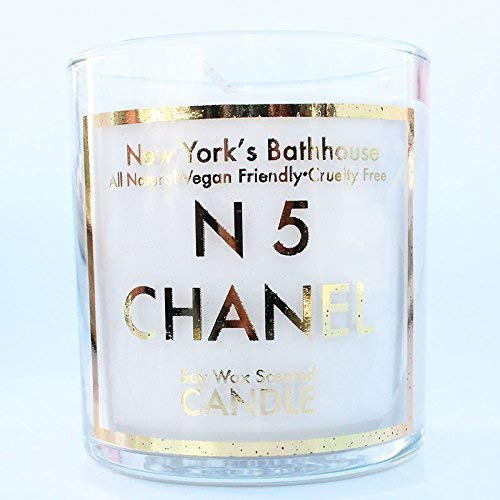 N 5 Scented Soy Wax Candle