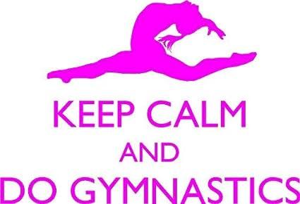 Amazon Girls Gymnastics Sticker