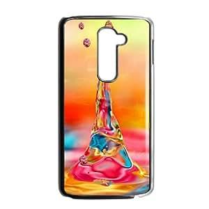 Abstract Tribal Pattern LG G2 Cell Phone Case Black NRI5079197