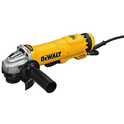 """DEWALT DWE4222N Small Angle Paddle Switch Grinder with Brake and No-Lock On, 4.5"""""""