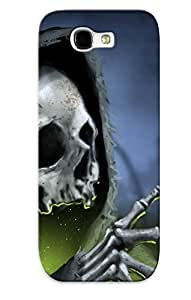 Hot QVuiSGf411OlqSf Death And A Rose Tpu Case Cover Compatible With Galaxy Note 2