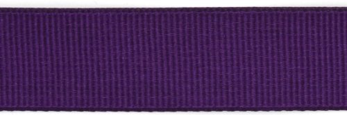Kel-Toy Polyester Grosgrain Ribbon, 5/8-Inch by 25-Yard, Aubergine