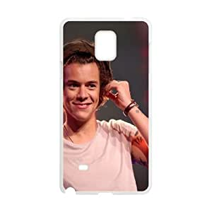 Samsung Galaxy Note 4 Cell Phone Case White Harry Styles Geminis Music LV7963449