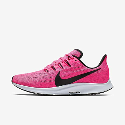 Nike Air Zoom Pegasus 36 Women's Running Shoe Hyper Pink/Black-Half Blue Size 8.0 (Best Running Shoes For Speed 2019)