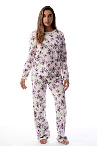 Just Love Womens Printed Thermal Fleece Sets 6727-10317-M