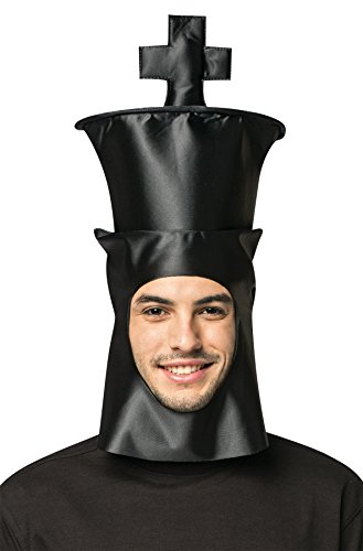 King Chess Piece Costume (UHC Chess King Hat Headpiece Funny Theme Party Halloween Costume Accessory)