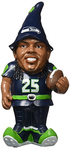 FOCO Seattle Seahawks Sherman R. #25 Resin Player Gnome by FOCO