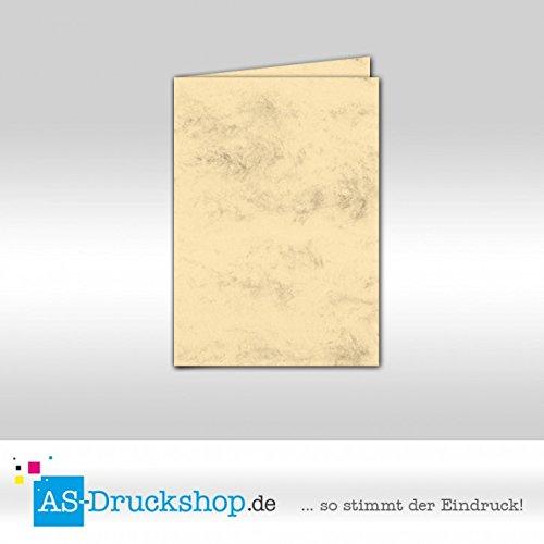 Faltkarte Doppelkarte - Chamois marmora 50 Stück DIN A5 B07952JPZH | Großer Verkauf