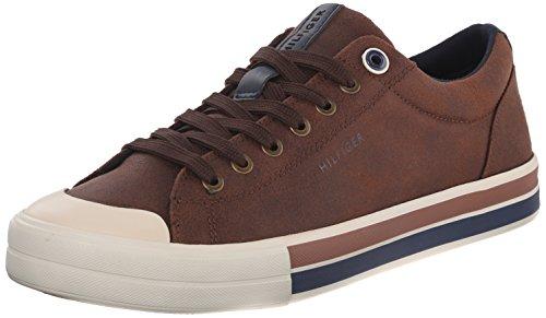 Tommy Hilfiger Men's RENO2 Shoe, COGNAC, 13 Medium US
