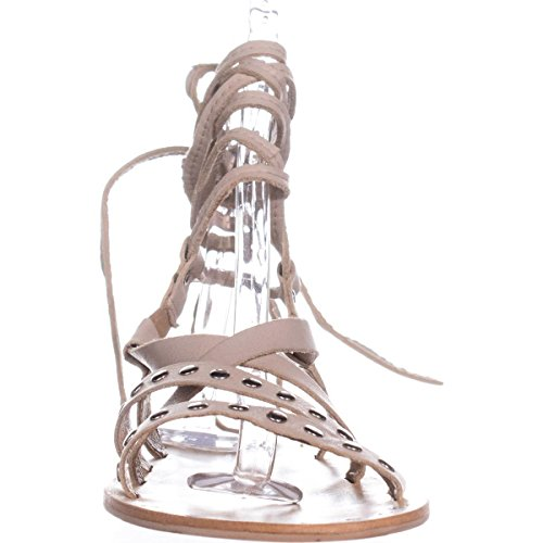 Sandal Charles Gladiator by Women's Charles Steeler David Nude Leather XrRrqYpw