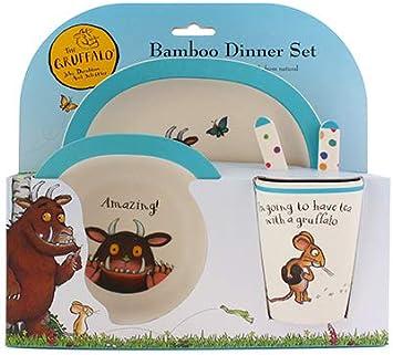 The Gruffalo 5 Piece Bamboo Dinner Set