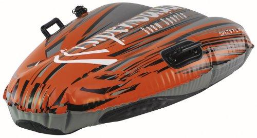 AlpenGaudi Aufblasbare Rodel AlpenSpeed Flash 1 Orange 115 cm