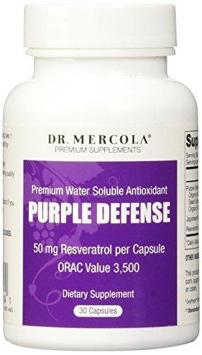 Dr Mercola Purple Defence Resveratrol (50mg, 30 Capsules) by Dr. Mercola ()