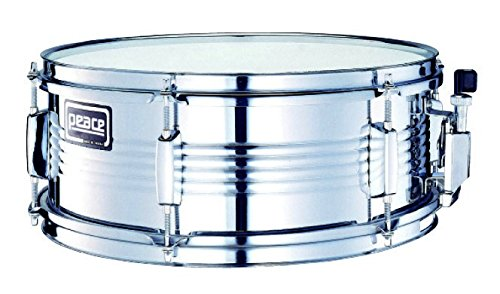 Peace Sd-102-Mn 14 x 5.5 Metal Shell Series Steel Snare Drum