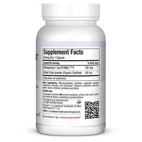 Amazon.com: Maxi Vitamin K-Max, 120 Count: Health & Personal ...