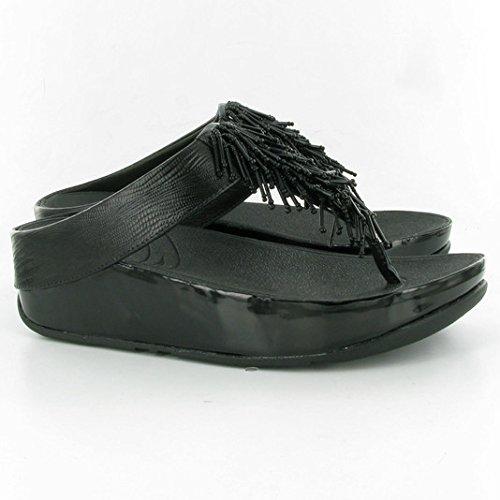 Fitflop - Sandalias de vestir para mujer negro negro