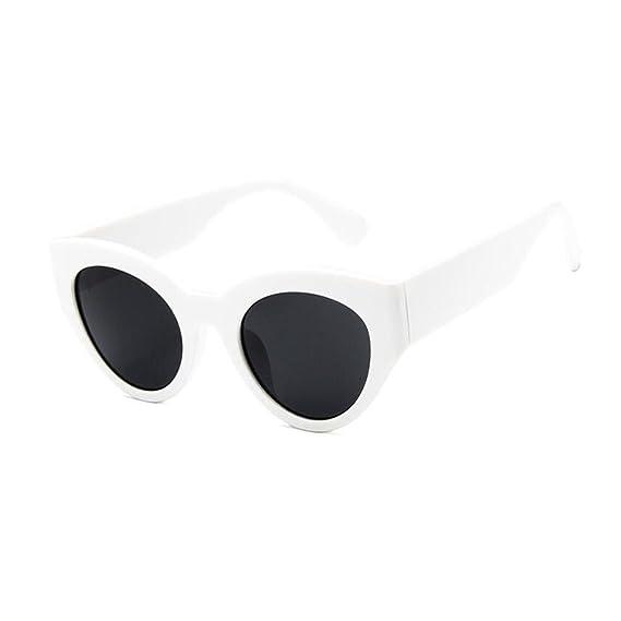 Deylaying Gafas de sol Retro 80s Mujeres Hombres Bisagra de ...