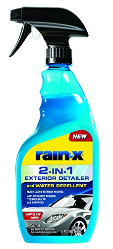 Rain-X 620115 2-in-1 Exterior Detailer and Water Repellent, 23 oz.