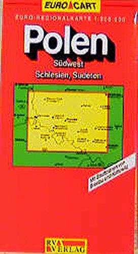 RV Euro-Regionalkarte 1:300 000 Polen - Südwest, Schlesien, Sudeten