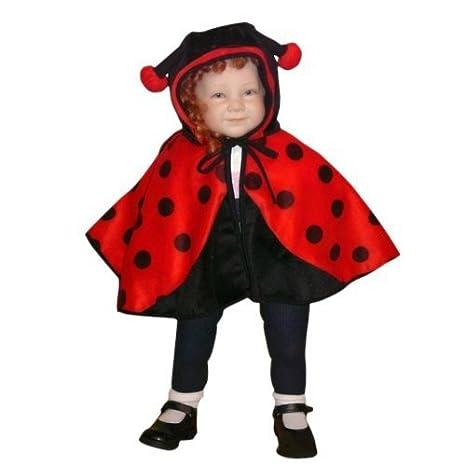 sconto fino al 60% grande varietà il migliore AN38 Costume da Coccinella Costume coccinella Costumi Carnevale Martedì  Grasso