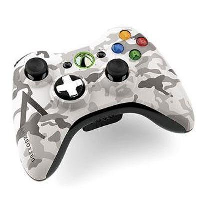 xbox 360 camo wireless controller - 3
