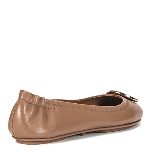 Black Flats Royal Travel Burch Tan in Gold Tory Ballet Minnie xvTIqxwY