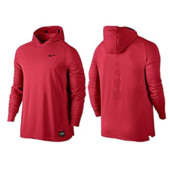 Nike Mens Elite Shooting Basketball Hoodie at Amazon Men's Clothing store:  Athletic Shirts