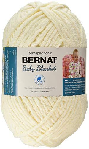 (Bernat Baby Blanket Big Ball Yarn (04008) Vanilla)