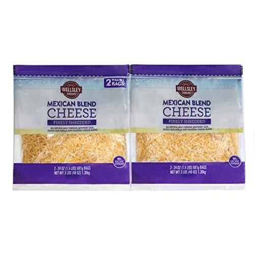 Wellsley Farms Expect More Mexican Shreds 2 Pack 4 ct