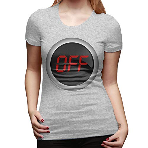 Ida Piers Off Women's Short Sleeve T Shirt Color Gray Size 32]()