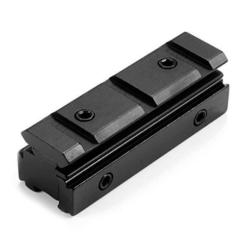 Mizugiwa 11MM Dovetail - 20MM Weaver Scope Rail Converter Adapter for Airgun or - Scope Dovetail Base