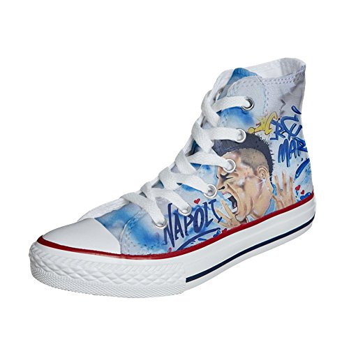 All personalisierte Produkt Customized Star Handwerk Converse Schuhe soccer aqwf1Cd