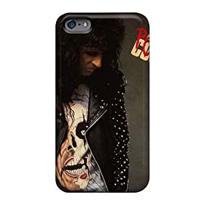 Perfect Cell-phone Hard Cover For Apple Iphone 6s (qFD784xKrS) Unique Design Beautiful Alice Cooper Band Series